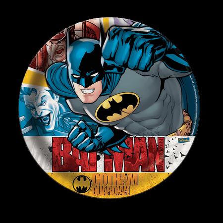 Prato Descartável Batman - 08 Unidades