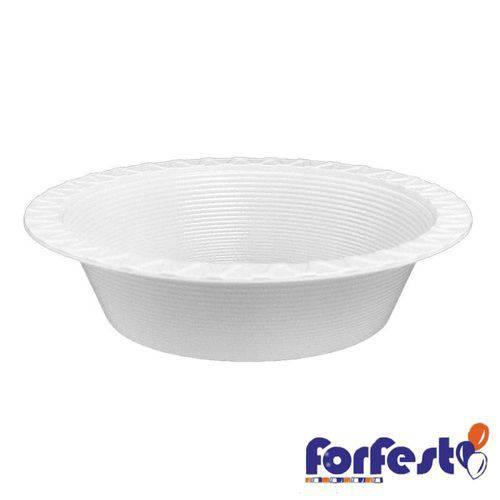 Prato Descartável Branco 15cm Fundo Forfest - 10 Unidades