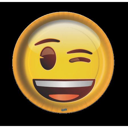 Prato Descartável Emoji