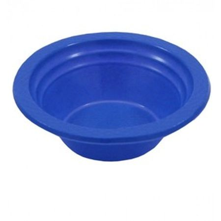 Prato Descartável Fundo 12cm Azul - 10 Unidades