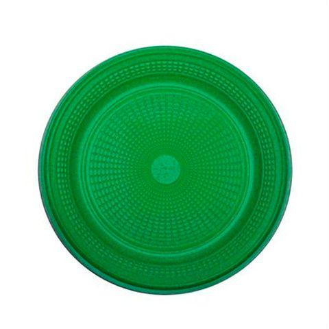 Prato Descartável para Bolo Verde Escuro C/10 - Trik Trik