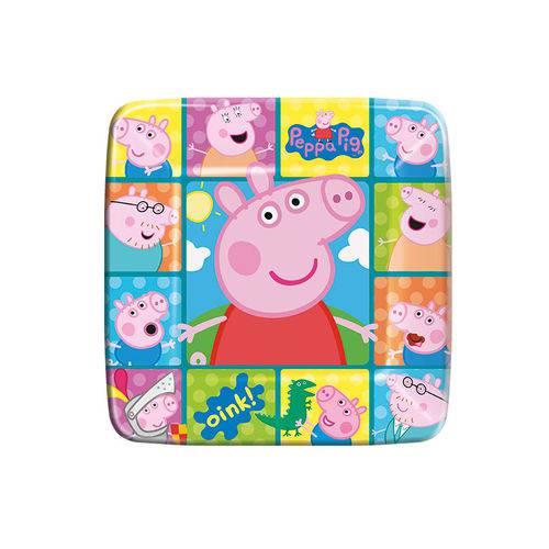 Prato Descartável Peppa Pig C/ 8 Unid.