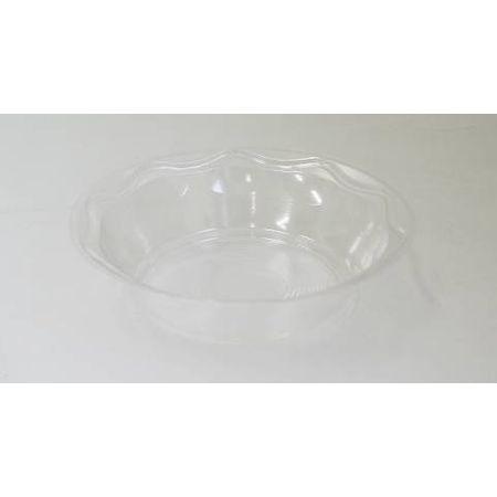 Prato Fundo 15cm Cristal Prafesta Prato Descartável Fundo 15cm Cristal Prafesta - 10 Unidades