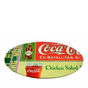 Prato Giratorio em Botellitas Coca Cola