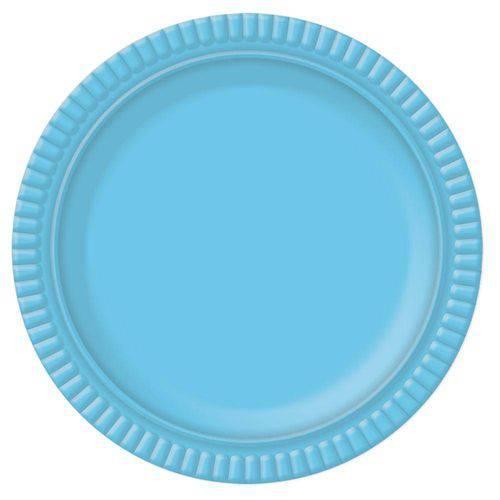 Prato No4 Azul Claro 28cm no 5 - Ultrafest