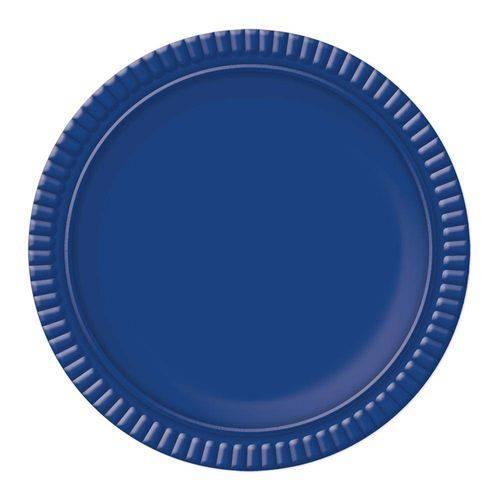 Prato No4 Azul Escuro 25 Cm - Ultrafest
