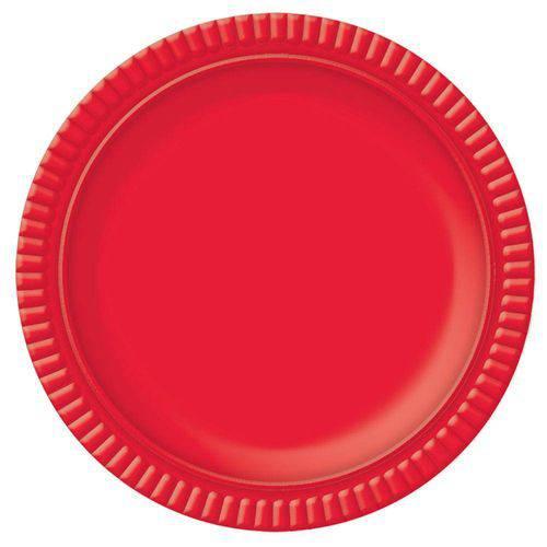 Prato No5 Vermelho 28cm - Ultrafest
