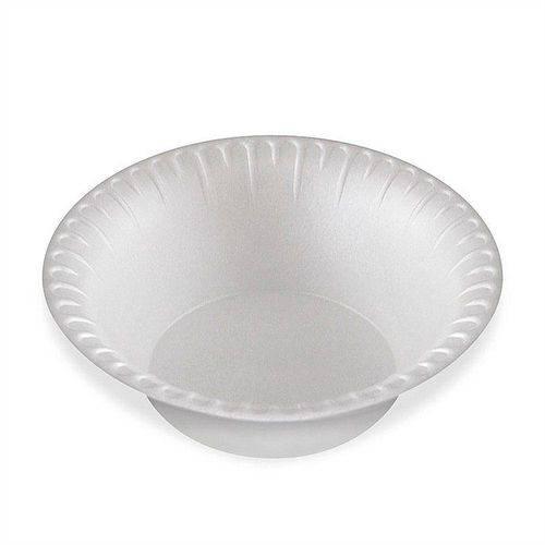 Prato Plastico Fundo para Sobremesa Ref.Pf12 Branco C/10 - Trik Trik