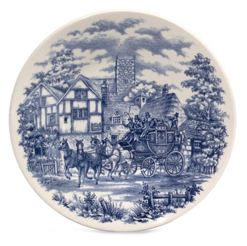 Prato Porcelana Oxford Fun 22cm C.Ingl