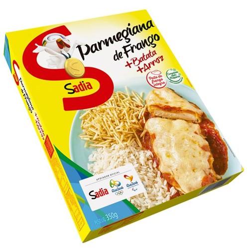 Prato Pronto Sadia 350g File Fgo Parmeg com Arroz e Batata