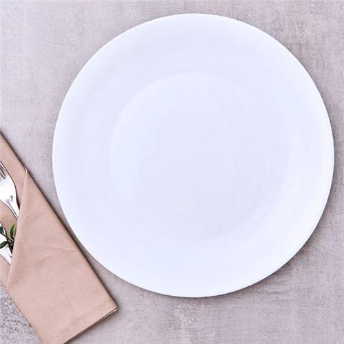 Prato Raso 27cm Milão Havan Branco