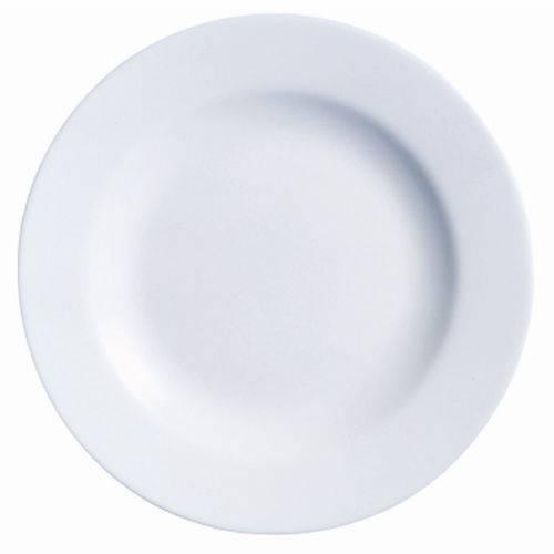 Prato Raso de Vidro Branco 27Cm Peps - Luminarc
