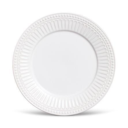 Prato Raso Pérgamo Branco- 06 Unidades