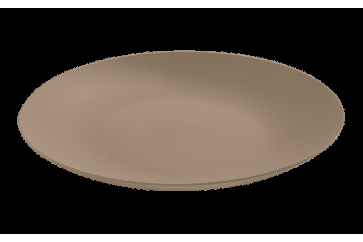 Prato Refeição Cozy 25cm Warm Gray Coza