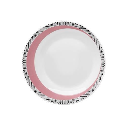 Prato Sobremesa Porcelana 21,5 Cm Moon Candy Dots - Fc02-8610 - Oxford - Oxf 326