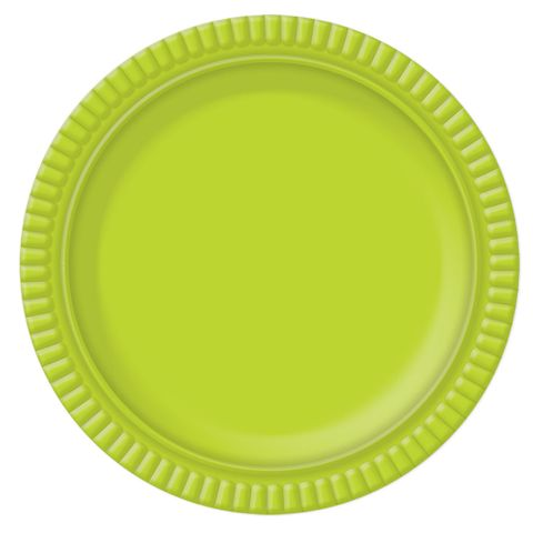 Prato Verde Limão No6 32cm - Ultrafest