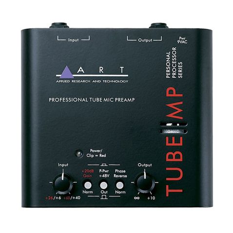 Pre Amplificador de Microfone Art Valvulado Tube Mp - Unico