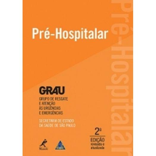 Pre Hospitalar - Grau - Manole