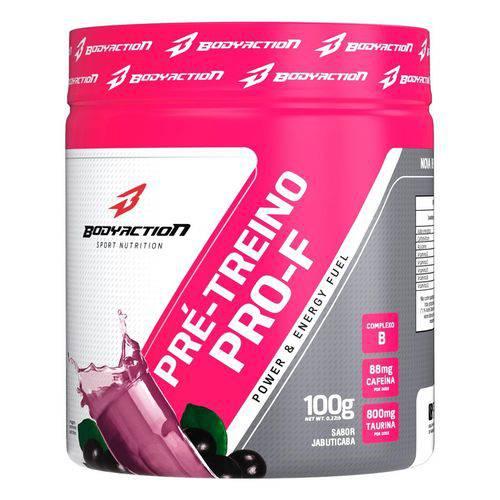 Pré Treino Pro-f Bodyaction Feminino 100g