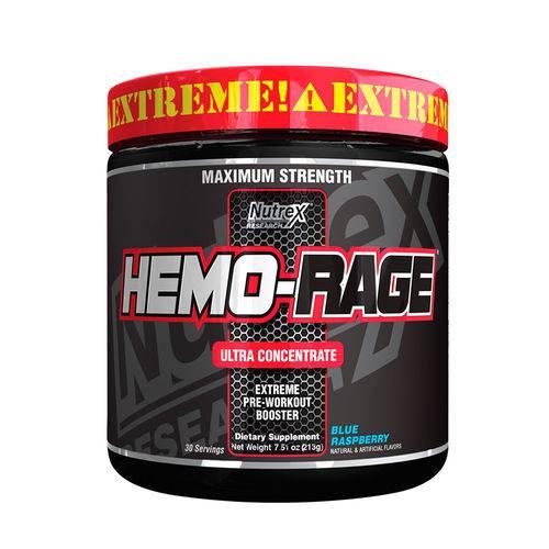 Pre Treino Ultra Concentrado Hemo Rage 30 Doses Nutrex