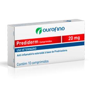 PREDIDERM COMPRIMIDOS 20mg - Cx C/ 10 Comprimidos