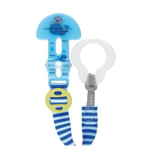 Prendedor Chupeta Clip It & Cover Azul - MAM