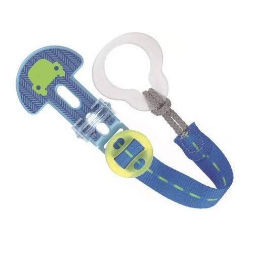 Prendedor de Chupeta Clip It! Original Azul Carro - MAM