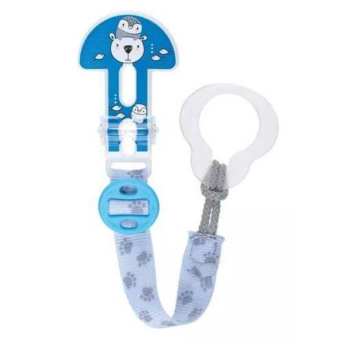 Prendedor de Chupeta Clip It! Original Azul Urso - MAM