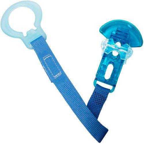 Prendedor de Chupeta Crystal Azul - Mam
