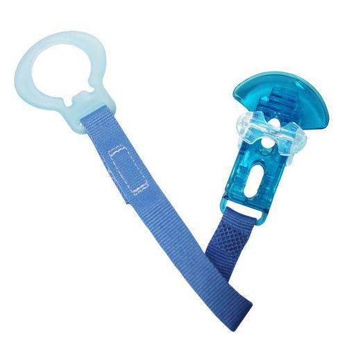 Prendedor de Chupeta Crystal Clip Mam Azul