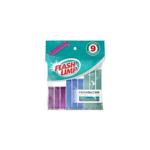 Prendedor para Embalagens 9 Peças Flashlimp