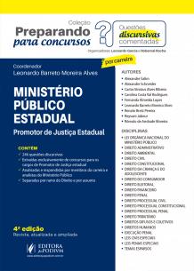 Preparando para Concursos - Provas Discursivas Comentadas - Ministério Público Estadual (2019)