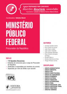 Preparando para Concursos - Provas Discursivas Comentadas - Ministério Público Federal (2017)