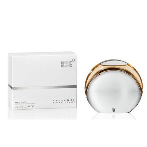 Presence D'Une Femme de Mont Blanc Eau de Toilette Feminino 50 Ml