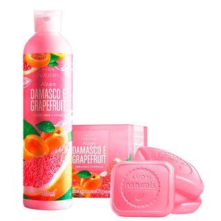 Presente Naturals Damasco e Grapefruit