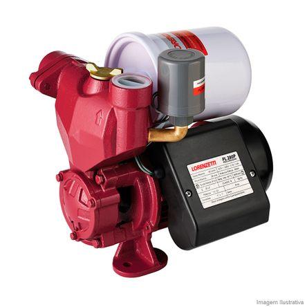 Pressurizador de Água Bivolt Pressostato PL-280 Vermelho Lorenzetti