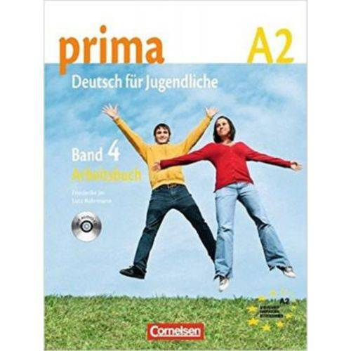 Prima A2 - Arbeitsbuch Mit Audio-cd - Band 4 - Cornelsen