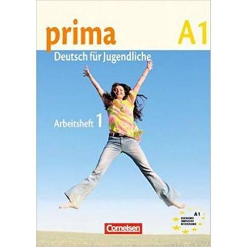 Prima A1 - Arbeitsbuch Mit Audio-cd - Band 1 - Cornelsen