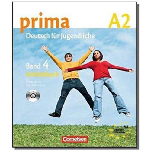 Prima Deutsch Fur Jugendliche A2.2 (livro de Exerc