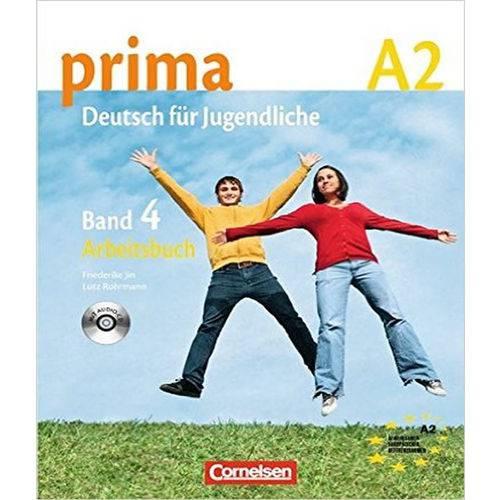 Prima Deutsch Fur Jugendliche A2.2 (Livro de Exercicios)