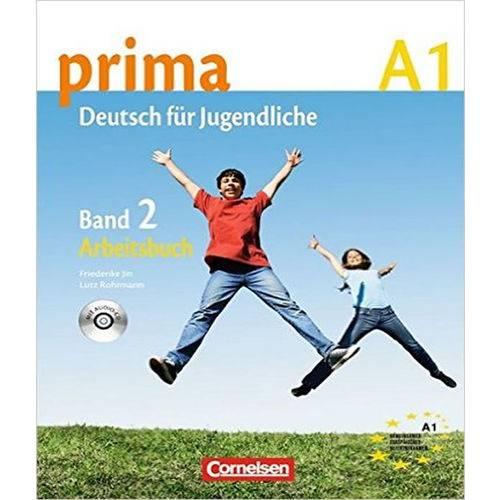 Prima Deutsch Fur Jugendliche A1.2 (Livro de Exercicios)