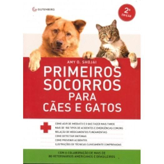Primeiros Socorros para Caes e Gatos - Gutenberg