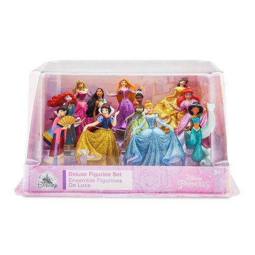 Princesas Disney - Set Luxo com 11 Princesas - Disney