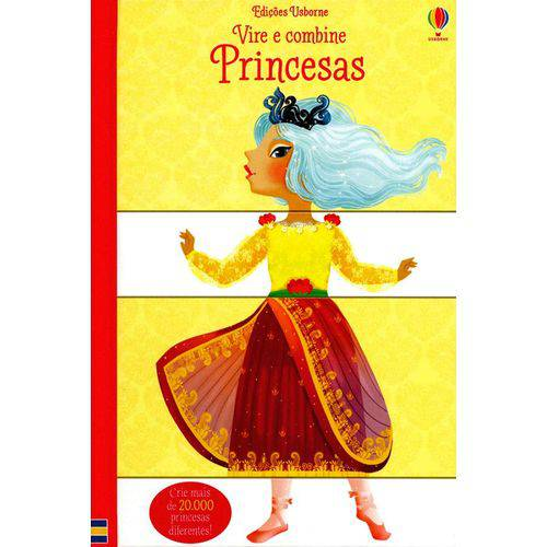 Princesas - Vire e Combine