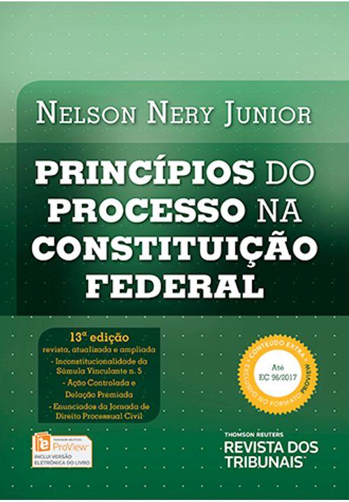 Princípios do Processo na Constituição Federal - 13ª Edição