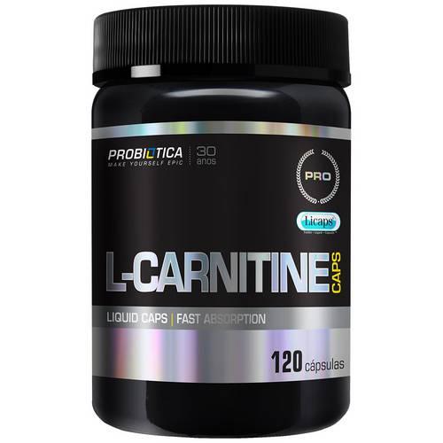 Pro L-Carnitine Caps - 120 Cápsulas - Probiótica