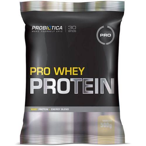 Pro Whey 500 G - Probiótica - Morango
