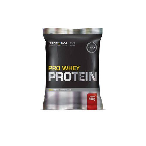 Pro Whey 500g - Morango - Probiótica