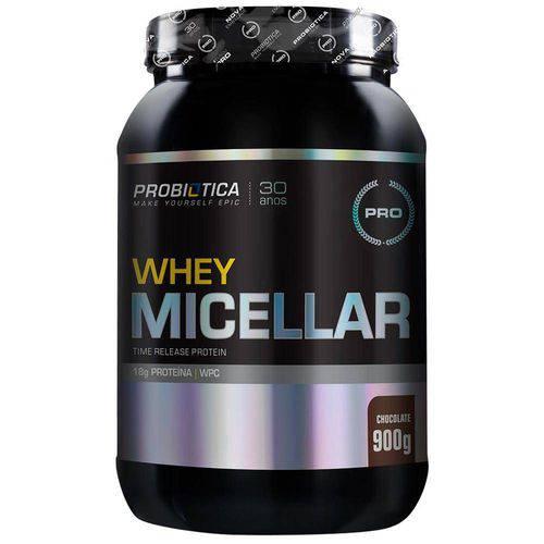 Pro Whey Micellar - 900g - Probiótica - Chocolate