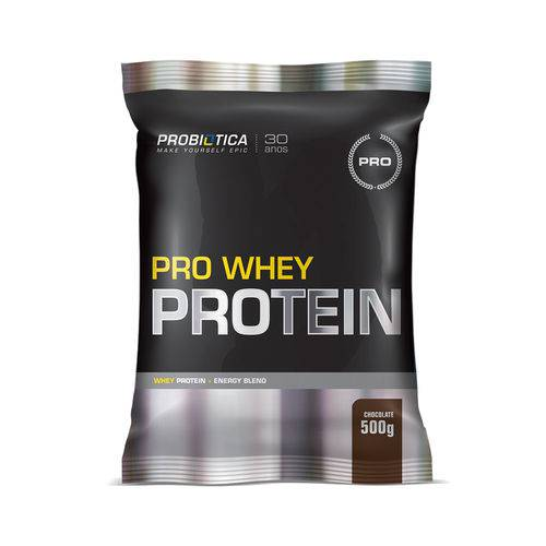 Pro Whey Protein 500g Chocolate - Probiótica Pro